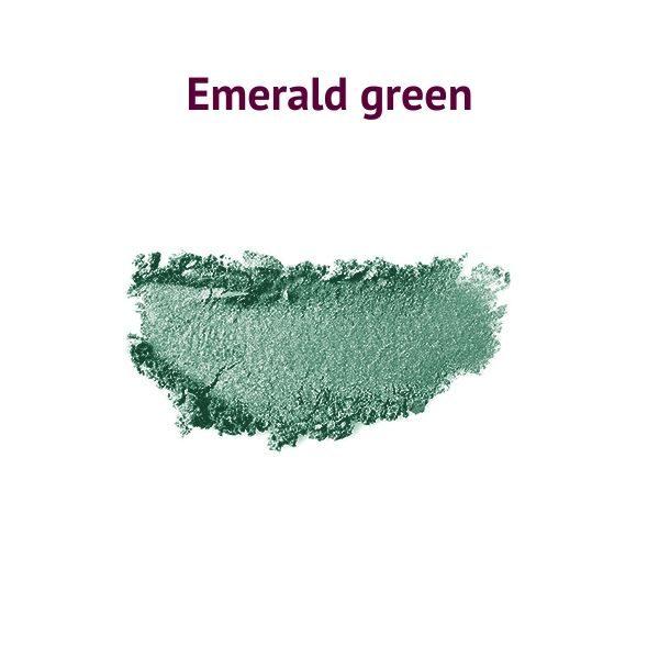 Natúr szemhéjpúder emerald green