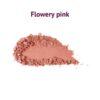 Natúr púder rose flowery pink