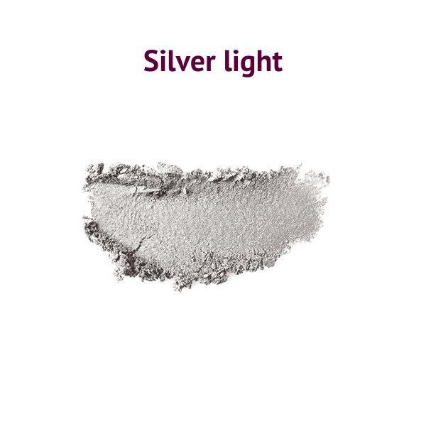 Natúr szemhéjpúder silver light